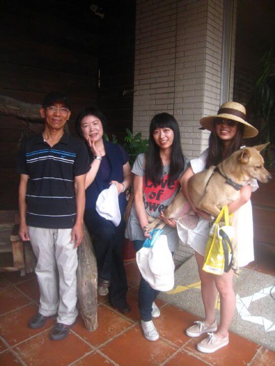 2011.7/17~18朱小姐4人+1狗入住通鋪 相片來源:墾丁寵物民宿.哈CHEESE