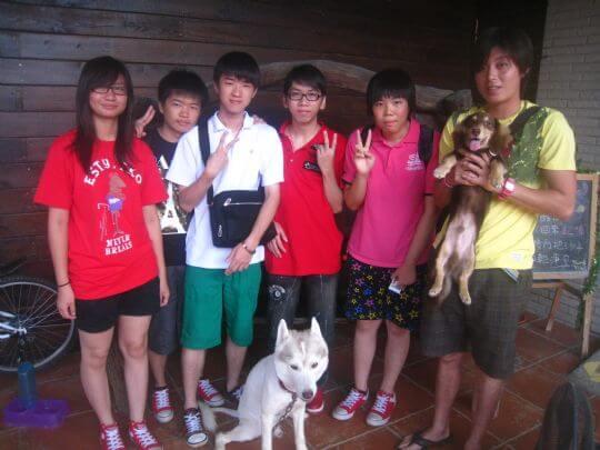 2011.7/19~20許先生5人入住通鋪 相片來源:墾丁寵物民宿.哈CHEESE