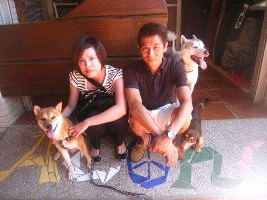 2011.7/25李小姐2人+1狗入住船屋 相片來源:墾丁寵物民宿.哈CHEESE