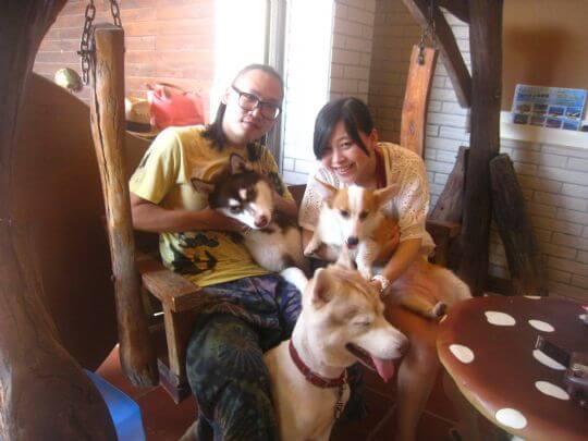 2011.7/25陳小姐2人+2狗入住蛋屋 相片來源:墾丁寵物民宿.哈CHEESE