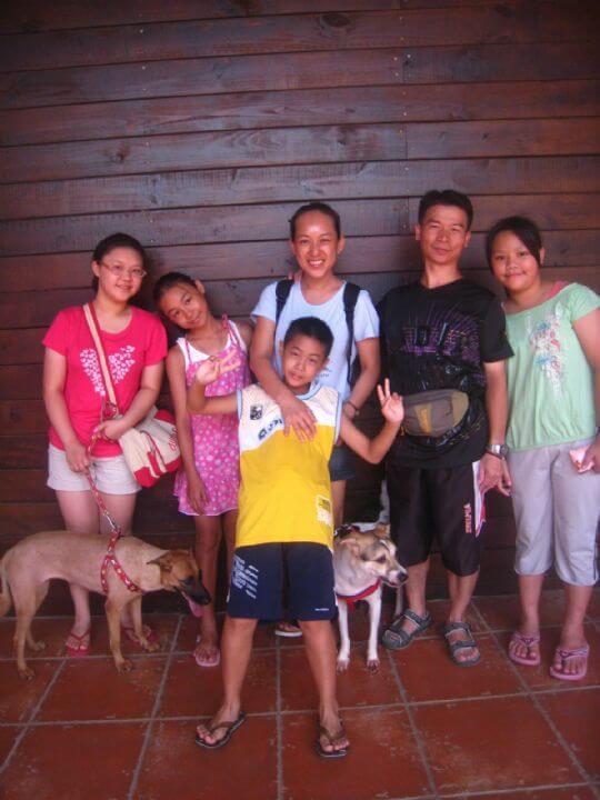 2011.7/27~28黃小姐6人+2狗入住通鋪 相片來源:墾丁寵物民宿.哈CHEESE