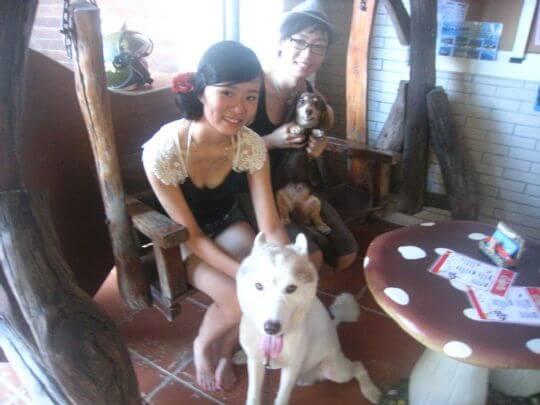2011.7/28~29楊小姐2人入住蛋屋和船屋 相片來源:墾丁寵物民宿.哈CHEESE