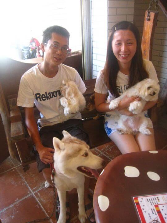 2011.7.30簡小姐2人+2狗入住蛋屋 相片來源:墾丁寵物民宿.哈CHEESE