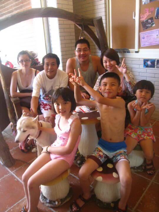 2011.7.30詹小姐7人入住通鋪 相片來源:墾丁寵物民宿.哈CHEESE