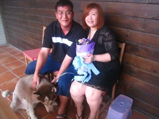 2011.8.6陳小姐2人+1狗入住樹屋 相片來源:墾丁寵物民宿.哈CHEESE