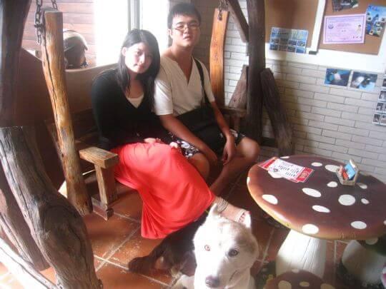 2011.8.7鄧先生4人+1狗入住船屋和蛋屋 相片來源:墾丁寵物民宿.哈CHEESE