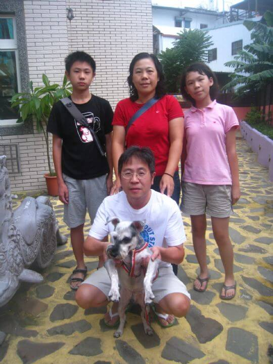 2011.8/9小姐4人+1狗入住通鋪 相片來源:墾丁寵物民宿.哈CHEESE