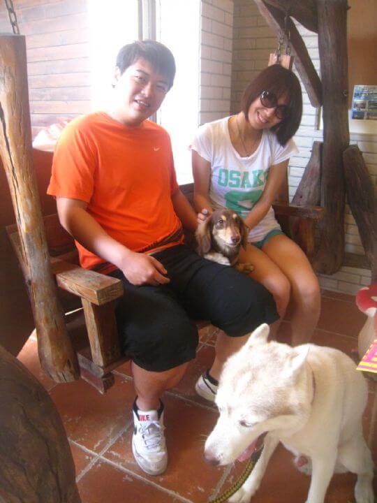 2011.8/13呂小姐2人入住船屋 相片來源:墾丁寵物民宿.哈CHEESE