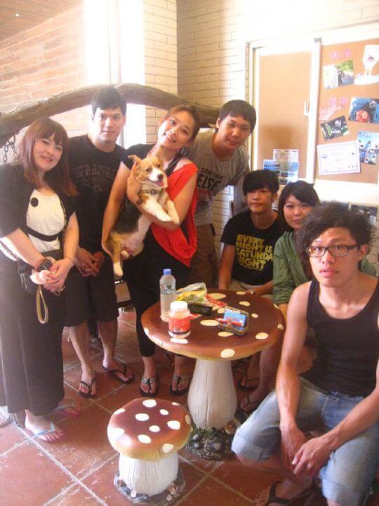 2011.8.19~20潘小姐7人+1狗入住通鋪 相片來源:墾丁寵物民宿.哈CHEESE
