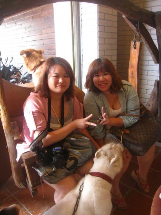 2011.8.21陳小姐2人+1狗入住船屋 相片來源:墾丁寵物民宿.哈CHEESE