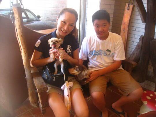 2011.8.23張小姐3人+1狗入住通鋪 相片來源:墾丁寵物民宿.哈CHEESE