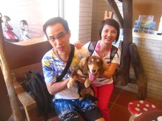 2011.8.25梁先生2人入住蛋屋 相片來源:墾丁寵物民宿.哈CHEESE