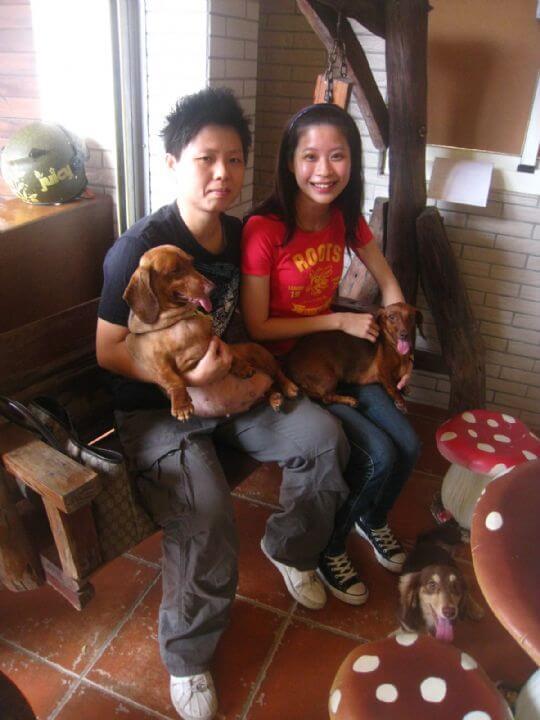 2011.9.2~3陳小姐2人+2狗入住船屋 相片來源:墾丁寵物民宿.哈CHEESE