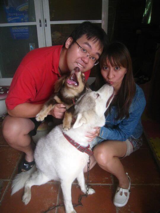 2011.9.4鄭先生2人入住樹屋 相片來源:墾丁寵物民宿.哈CHEESE