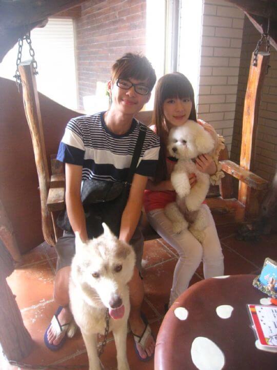 2011.9.13梁小姐2人+1狗入住樹屋 相片來源:墾丁寵物民宿.哈CHEESE