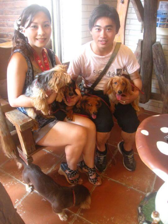 2011.9.17張小姐4人+5狗入住船屋和樹屋 相片來源:墾丁寵物民宿.哈CHEESE
