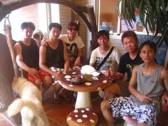 2011.9.18~19彭小姐7人+1狗入住蛋屋和通鋪 相片來源:墾丁寵物民宿.哈CHEESE