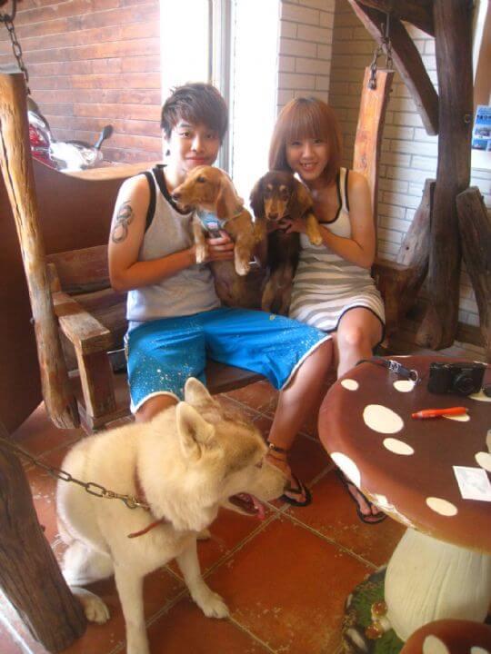 2011.9.18~19張小姐2人+1狗入住樹屋 相片來源:墾丁寵物民宿.哈CHEESE