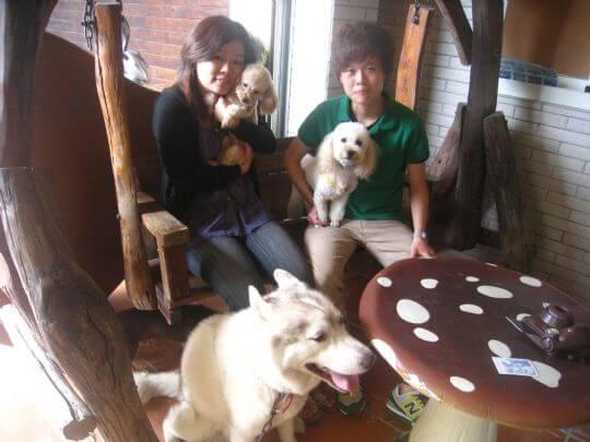 2011.9.21~22江小姐2人+2狗入住蛋屋 相片來源:墾丁寵物民宿.哈CHEESE