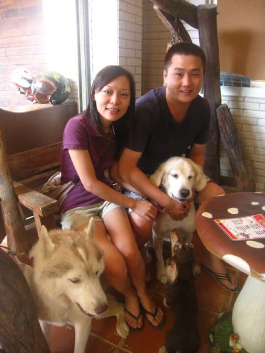 2011.9.23廖小姐2人+1狗入住船屋 相片來源:墾丁寵物民宿.哈CHEESE