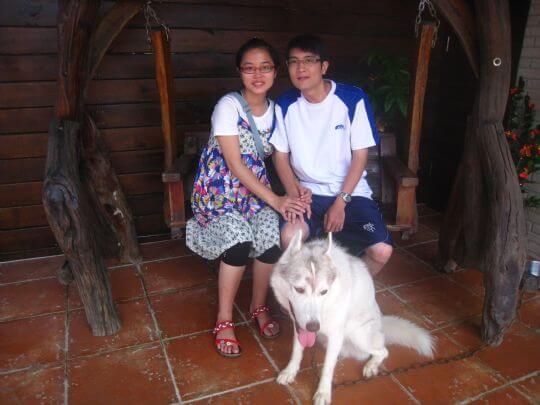 2010.7.19~20許先生2人連續入住船屋,有攜帶馬爾濟斯狗狗 相片來源:墾丁寵物民宿.哈CHEESE