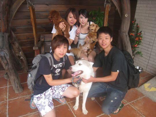 2010.7.24康小姐四人入住船屋 相片來源:墾丁寵物民宿.哈CHEESE