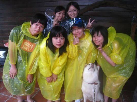 2010.7.24~25小Q6人入住船屋、蛋屋和通鋪 相片來源:墾丁寵物民宿.哈CHEESE