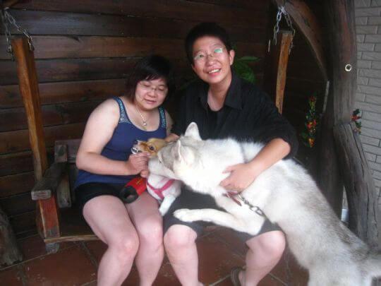 2010.7.25李小姐2人入住樹屋 相片來源:墾丁寵物民宿.哈CHEESE