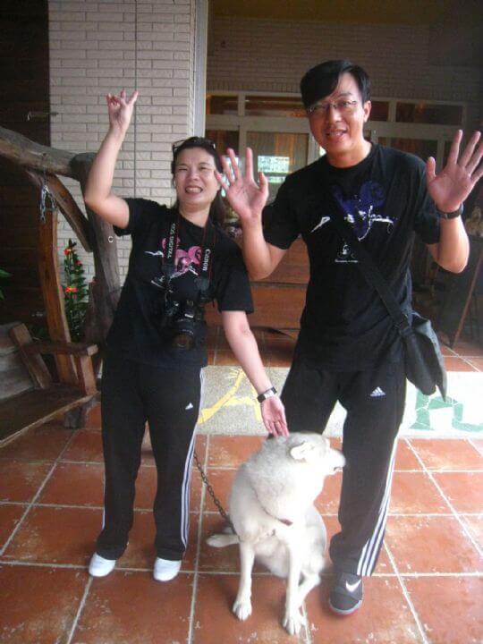 2010.7.25徐小姐2人入住蛋屋 相片來源:墾丁寵物民宿.哈CHEESE