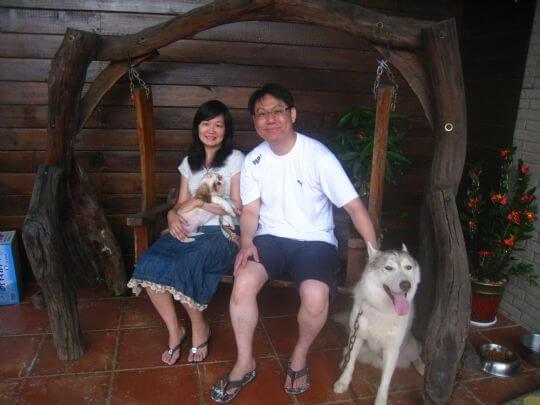 2010.7.26黃先生2人住樹屋 相片來源:墾丁寵物民宿.哈CHEESE
