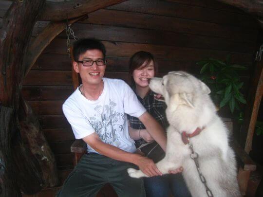 2010.7.27林先生2人住船屋 相片來源:墾丁寵物民宿.哈CHEESE
