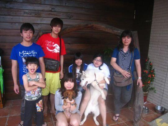 2010.7.28陳先生等七人入住通鋪 相片來源:墾丁寵物民宿.哈CHEESE