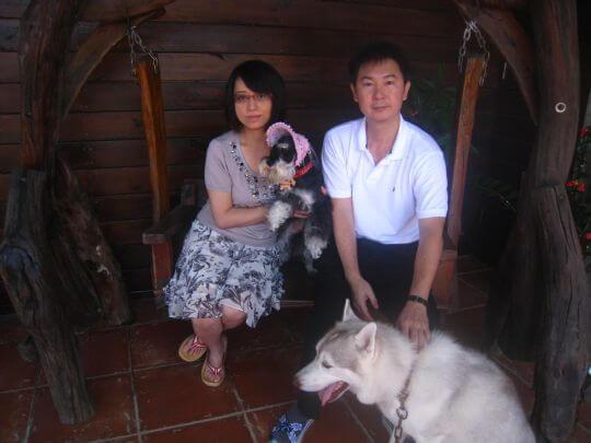 2010.7.30李小姐2人+黑皮入住船屋 相片來源:墾丁寵物民宿.哈CHEESE