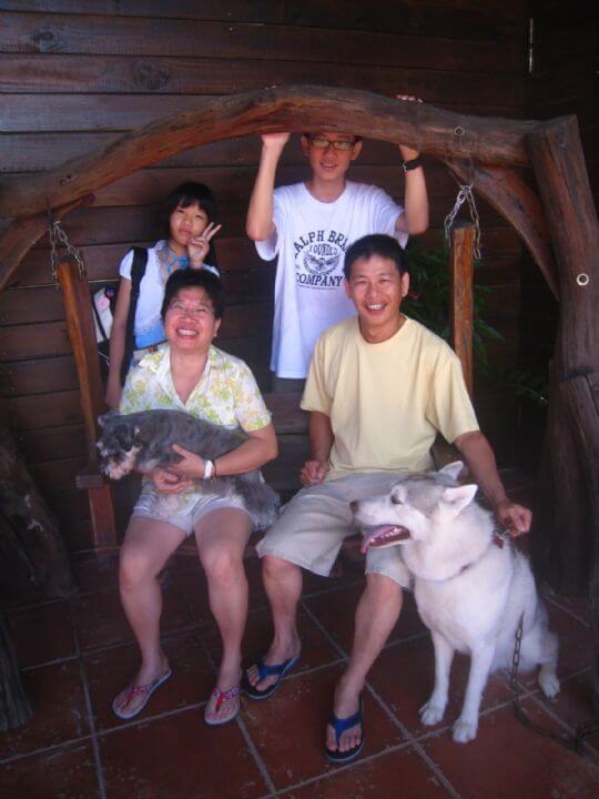 2010.7.31黃小姐四人+荳荳入住通鋪 相片來源:墾丁寵物民宿.哈CHEESE