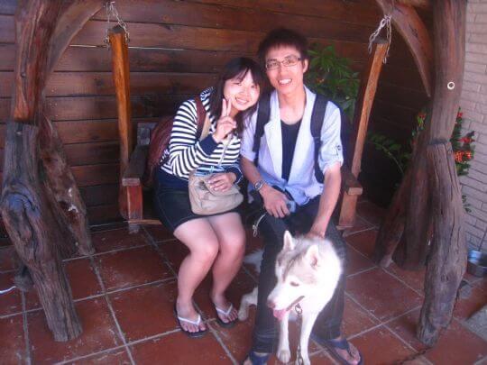 2010.8.1賴小姐朋友2人+小公主入住船屋 相片來源:墾丁寵物民宿.哈CHEESE