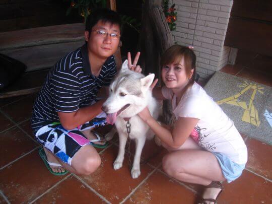 2010.8.3~4王小姐2人連住船屋和樹屋 相片來源:墾丁寵物民宿.哈CHEESE