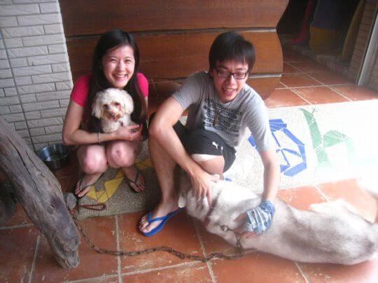 2010.8.4~5何先生4人入住通鋪 相片來源:墾丁寵物民宿.哈CHEESE