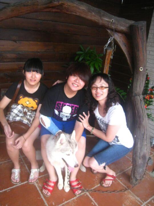 2010.8.6陸小姐4人入住通鋪 相片來源:墾丁寵物民宿.哈CHEESE