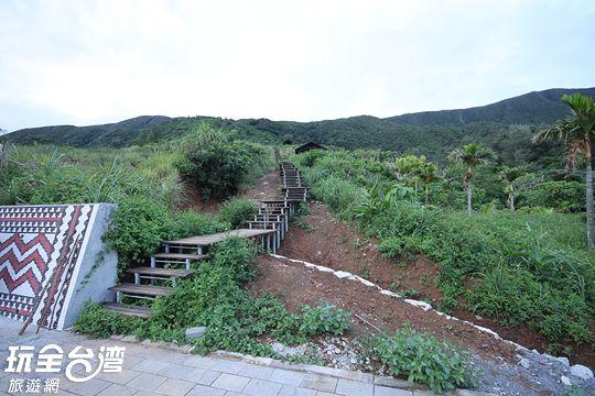 爬天池的階梯