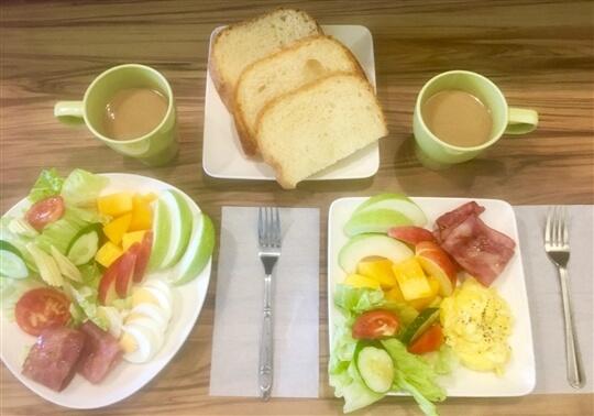 雙人舒活早餐 相片來源:墾丁親子民宿~涼夏渡假別墅