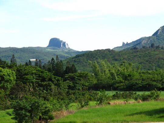 山巒景色 相片來源:墾丁竹安莊景觀民宿