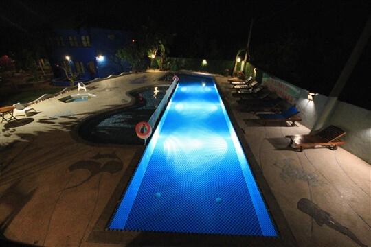 106年重新整修的泳池 相片來源:小琉球~八村旅店villa館