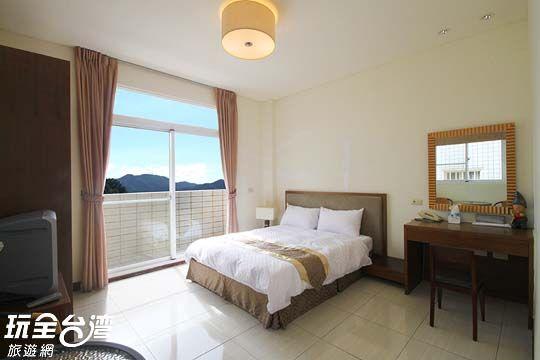 *精緻景觀雙人房 相片來源:阿里山湘庭觀景渡假民宿