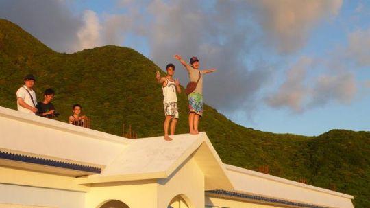 好望角♥遊客們 相片來源:蘭嶼好望角渡假村