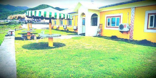 民宿外的景觀 相片來源:蘭嶼好望角渡假村