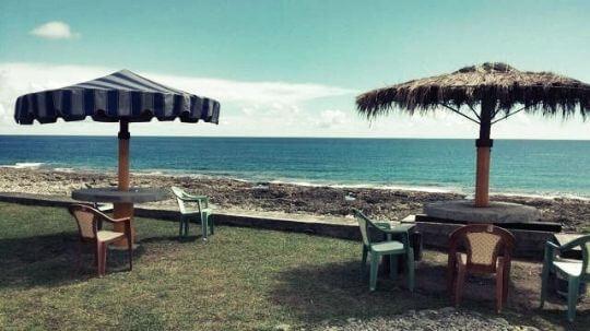 民宿前的開放空間,可以讓大家在此吹吹風休息片刻~ 相片來源:蘭嶼好望角渡假村