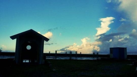 看見好望角的第一眼! 相片來源:蘭嶼好望角渡假村