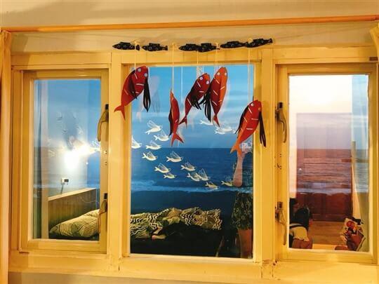 美麗客人拍的美麗房間照 相片來源:蘭嶼好望角渡假村