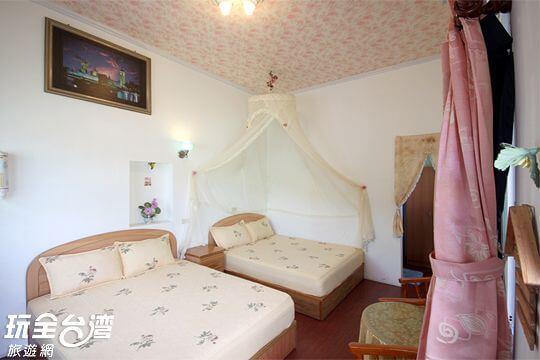 4人溫馨套房 相片來源:台東鹿野.月亮的家民宿