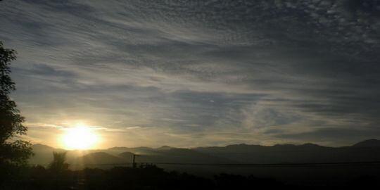 日出 相片來源:台東鹿野.月亮的家民宿